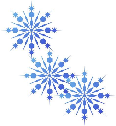 snowflakes printable clipart snowflakes blue clip art at clker com vector clip art