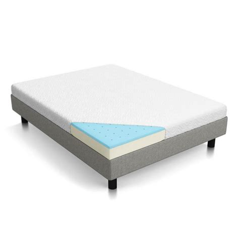 Xl Mattress Measurements by Lucid Lucid 5 In Gel Memory Foam Mattress Xl Size