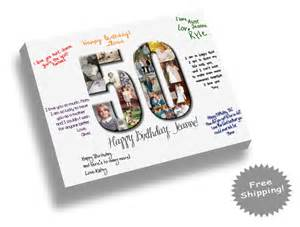 birthday guest book template items similar to birthday canvas print guest book