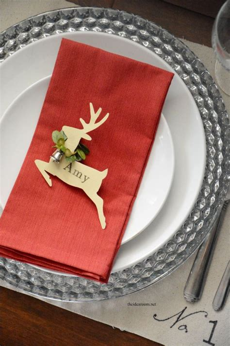 christmas place settings best 25 christmas place cards ideas on pinterest diy
