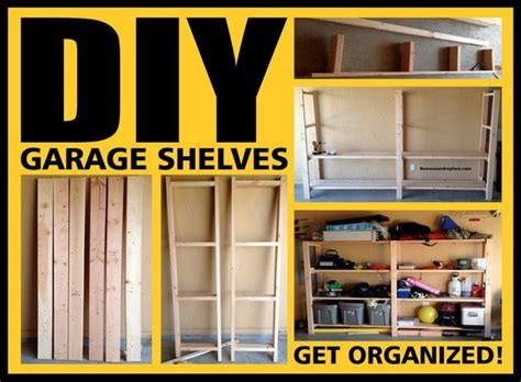 Diy Shelf Organizer by Garage Shelves Diy How To Build A Shelving Unit With Wood
