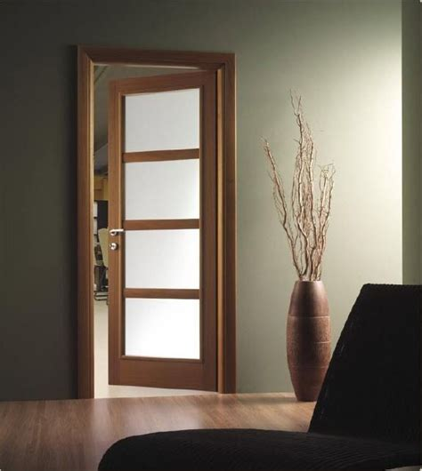 puertas de madera  cristal house wooden doors