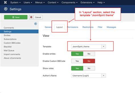 template joomla hikashop jcomments template