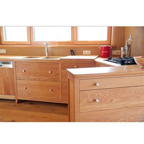 cuisine en chene massif cuisine quot reflets quot en ch 234 ne 100 massif le bois d antan