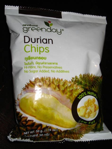 durian chips papawow