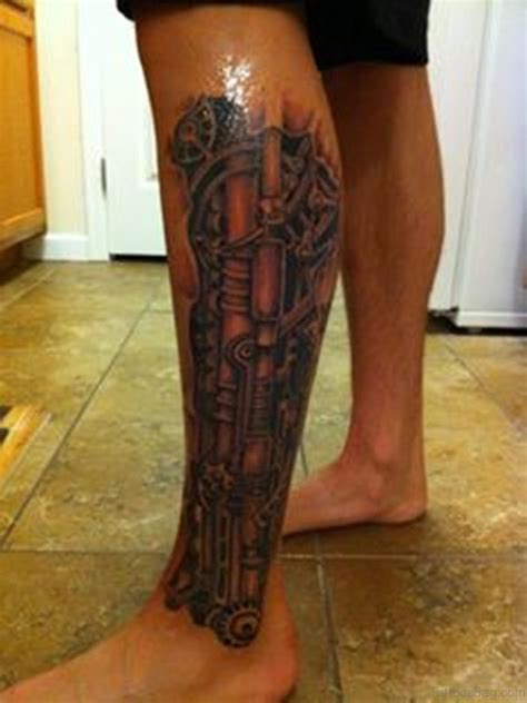 biomechanical tattoo on legs 61 fabulous biomechanical tattoos for leg