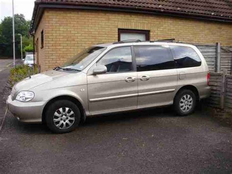 Kia Mpv 7 Seater Kia 2005 Sedona L Beige Mpv 7 Seater Great Family Car