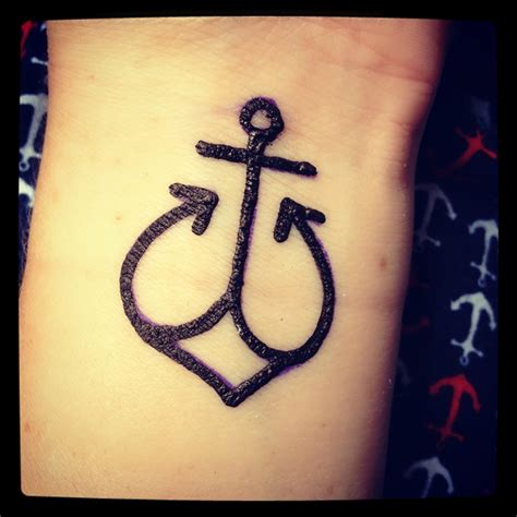 anchor henna tattoo henna anchor designs makedes