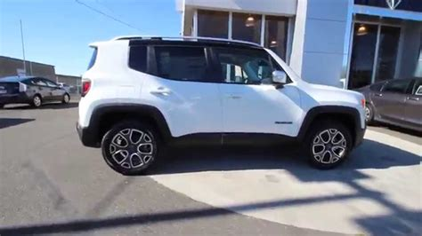jeep renegade white 2015 jeep renegade limited alpine white fpb32991 mt