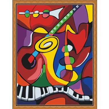 picasso paintings musical instruments painting by numbers 30x40cm musical instruments