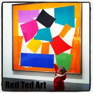 Matisse the snail red ted art s blog