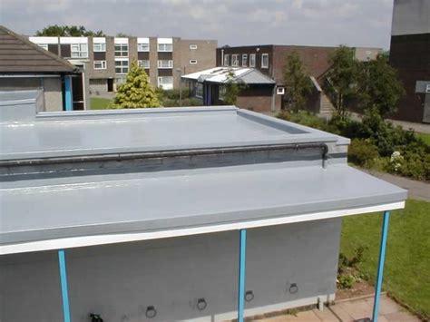 grp fibreglass flat roof to grp fibreglass flat roof with parapet wall