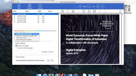 convert pdf to word mac youtube how to convert pdf to word on mac os youtube