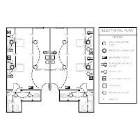 hotel room electrical layout electrical plan exles