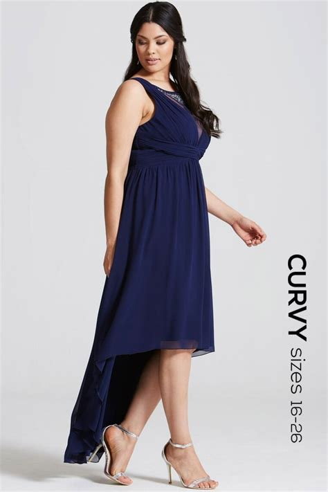 Dipped Hem Dresses by Curvy Navy Dipped Hem Maxi Dress