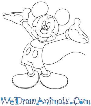 learn how to draw mickey mouse step by step easy drawing photos drawn mickey mouse drawings art gallery