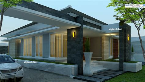 rumah minimalis modern semi resort  pekanbaru riau