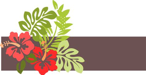 hawaii clip art at clker com vector clip art online