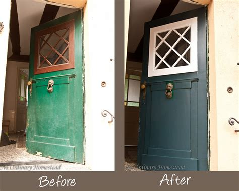 Painting Front Door Green With Envy About Freshly Painted Doors No Ordinary Homestead