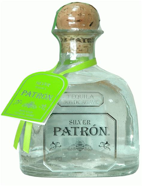 tequila patron silver bill of flair