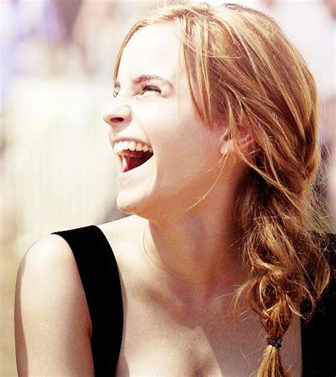 emma watson laughing love her laugh emma watson pinterest