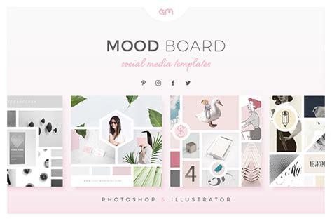 Home Based Online Graphic Design Jobs mood boards for social media on behance