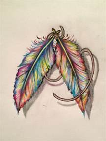 colorful feather tattoos the world s catalog of ideas