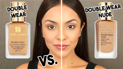Estee Lauder Wear estee lauder wear water fresh foundation vs