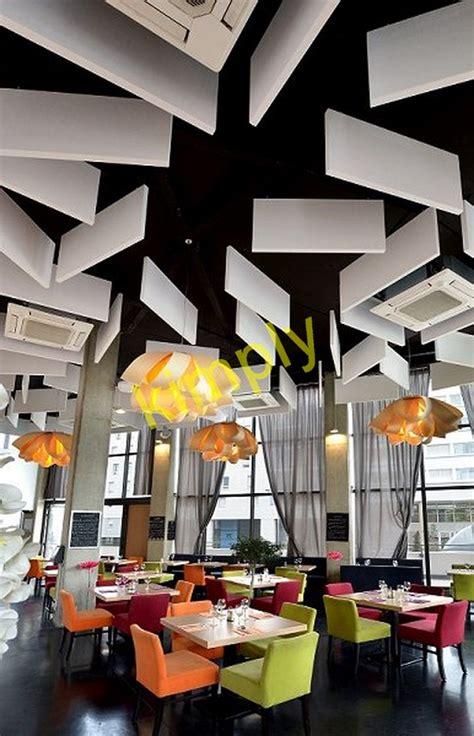 acoustique plafond plafonds acoustiques a baffles tous les fournisseurs