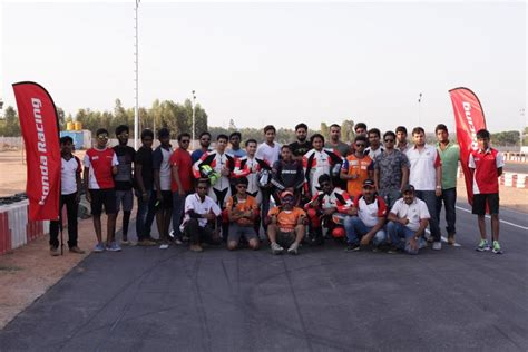 Racing Academy 2 honda ten 10 racing academy session organised in bangalore