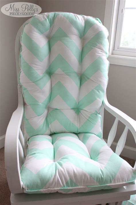 Custom Chair Cushions Glider Cushions Rocking Chair Cushion For Rocking Chair For Nursery