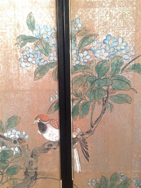 framed vintage gracie chinoiserie wallpaper panels