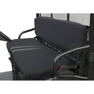 seat cover for bench seat classic accessories quadgear utv seat cover black for polaris ranger bench seat