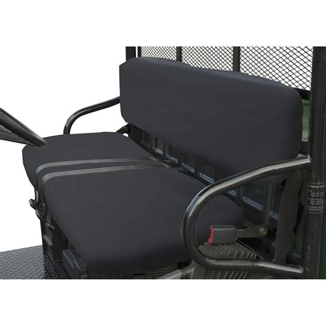 utv bench seat classic accessories quadgear utv seat cover black for