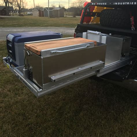 slide out truck bed expedition truck bed tray pullout nuthouse industries