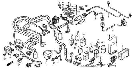 wiring diagram for honda valkyrie images wiring diagram