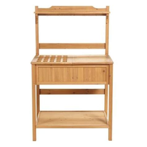 home depot wood bench home decorators collection 60 in h x 37 in w natural