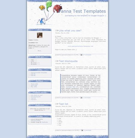 20 free beautiful blogger templates dobeweb