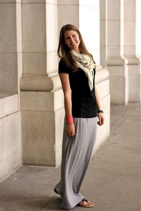 1000 ideas about grey maxi skirts on pleated