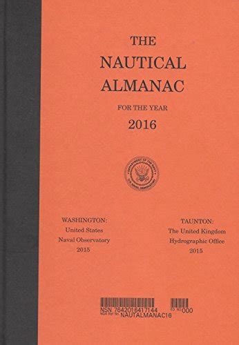 used vg nautical almanac 2016 nautical almanac for the