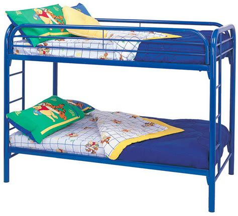 Bunk Bed Side Rails Coaster 2256b Bunk Bed Blue 2256b At
