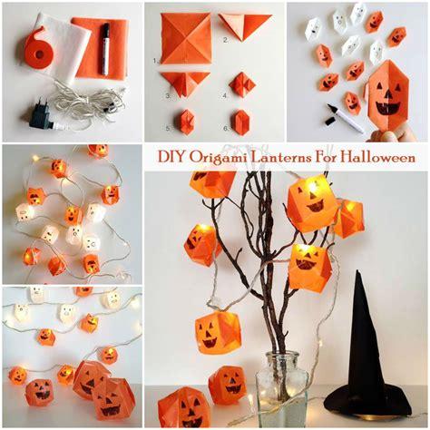 How To Make Origami Lanterns - diy origami lanterns for i diy
