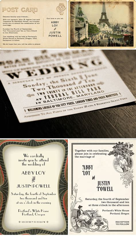 vintage wedding invitations vintage wedding invitations your wedding