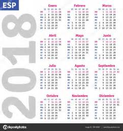 Calendario Portugal 2018 Espa 241 Ol Calendario 2018 Vector De Stock 169 Rustamank