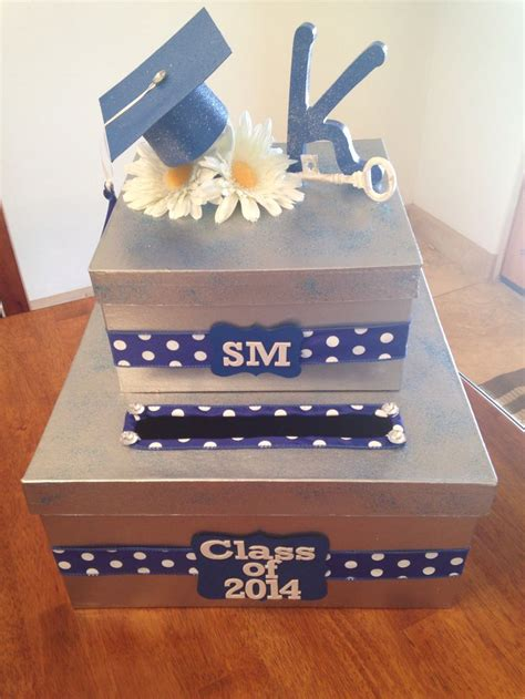 how to make graduation card box best 25 graduation card boxes ideas on grad