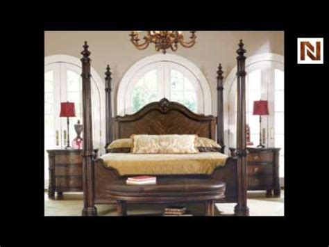 bernhardt james island california king poster bed  hfr palmetto youtube