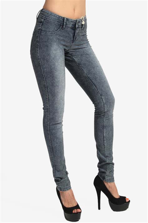 comfortable jeans themogan low rise super comfortable stretch jeggings