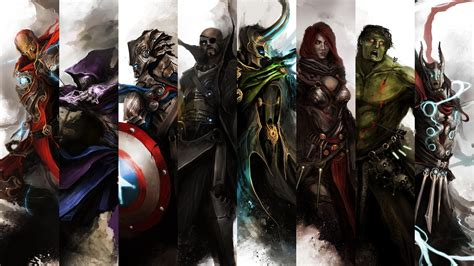 captain america thor ironman wallpaper the avengers full hd wallpaper and background 2560x1440