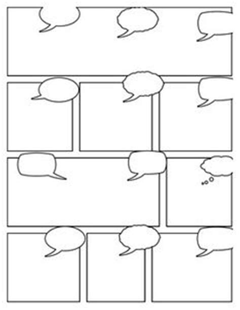 graphic novel template printable 1000 images about comic on comic strips