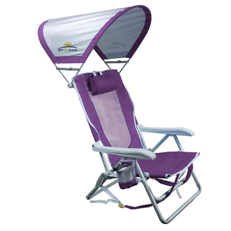 large chair with sunshade gci outdoor sunshade backpack chair west marine